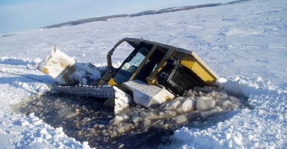 Трудности работы на крайнем севере