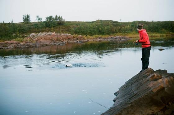 Рыбалка на труднодоступной реке