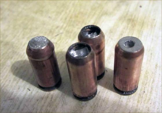 Патроны из стреляных гильз и пуль