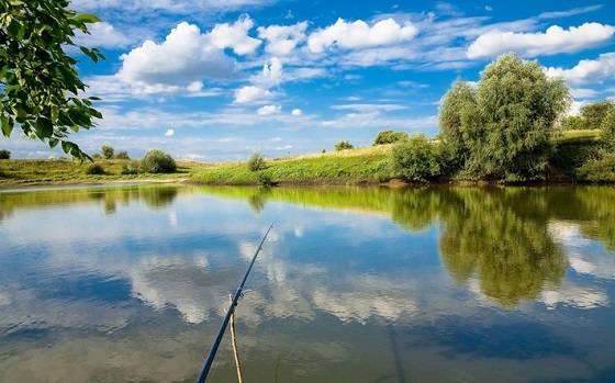 Рыболовные места под Киевом