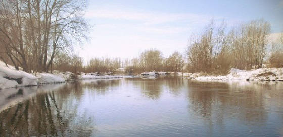Рыбалка на Десне в марте апреле весной