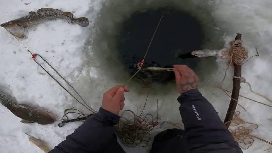 Рыбалка на Севере весной