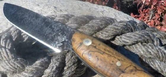 Нож из рыболовных крючков