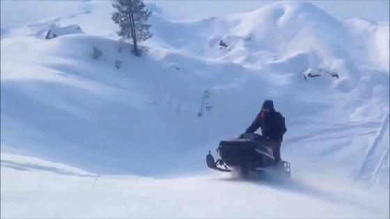 аварии на снегоходах
