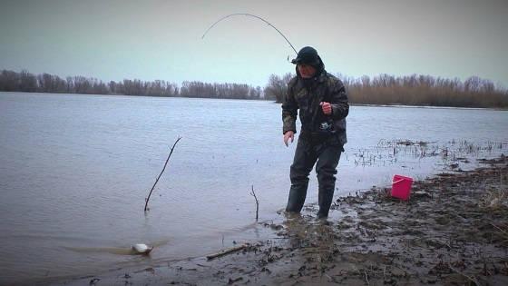 Рыбалка по первой открытой воде