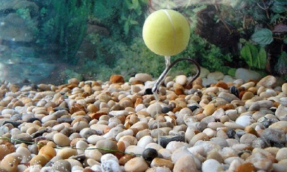 Тест pop-up в воде