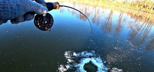 Щедрый лёд на реке