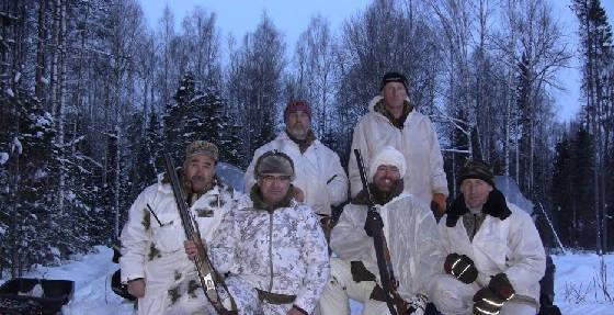 Охота: север БС