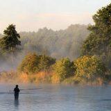 Рыбалка на Удачном озере в Карелии