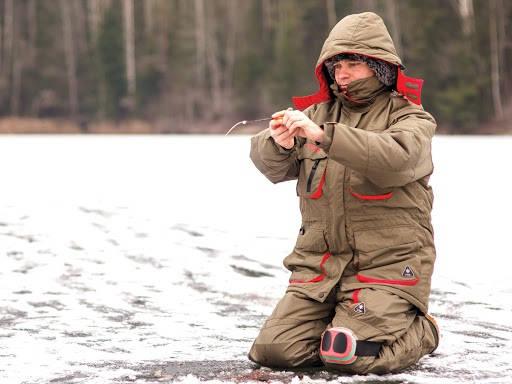 Поплавок - это костюм для зимней рыбалки