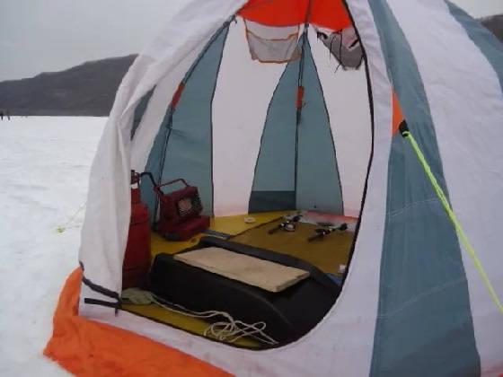 Рыболовные палатки: Зимний вариант