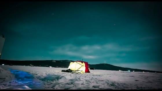 Мартовский ЛЕЩ и Судак в палатке