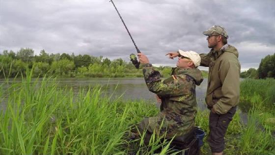 Весенняя ловля ЛЕЩА на ФИДЕР: Река Неман