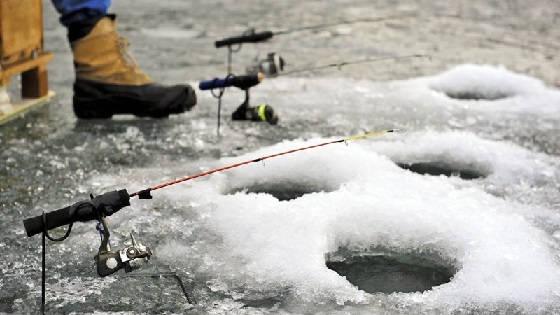 Рыбалка со льда в марте