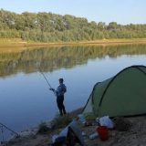 Первая рыбалка на фидер