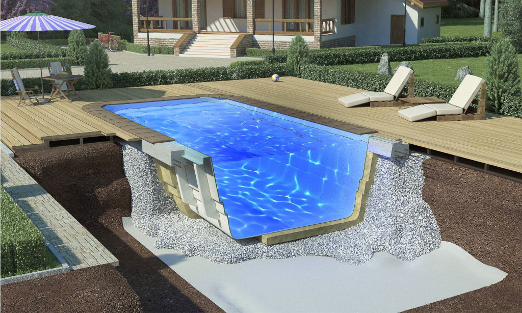 бассейн композитный