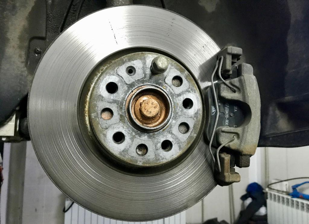 ремонт тормозов Тигуан