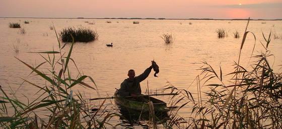Охота на утку: Астраханский экстрим