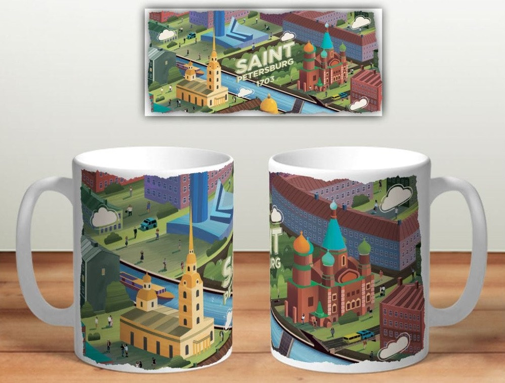 сувениры с видами Санкт Петербурга интернет магазин
