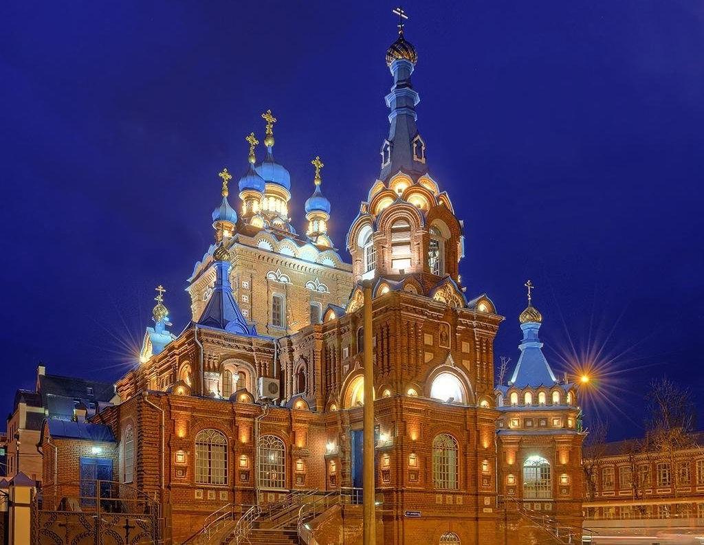 Василий Чаленко присутствовал на открытии Свято-Георгиевского храма