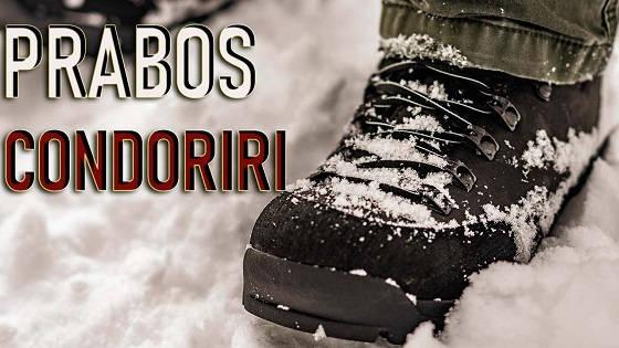 Чешские треккинговые ботинки Prabos Сondoriri