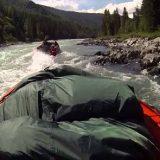 сплав по горной реке на лодочном моторе водомете
