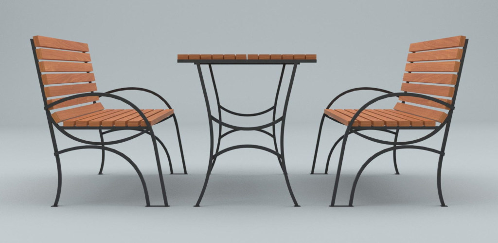 уличная мебель из металла производства Актив