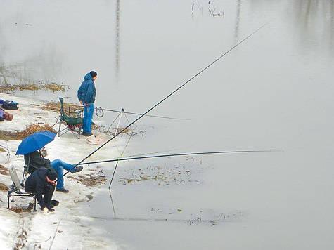 Рыбалка после схода льда