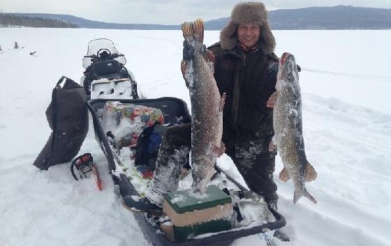 Рыбалка на щуку и налима в Якутии