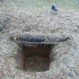 Охота на гуся из окопов