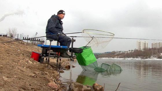 Фидер в Апреле: Ловля Плотвы