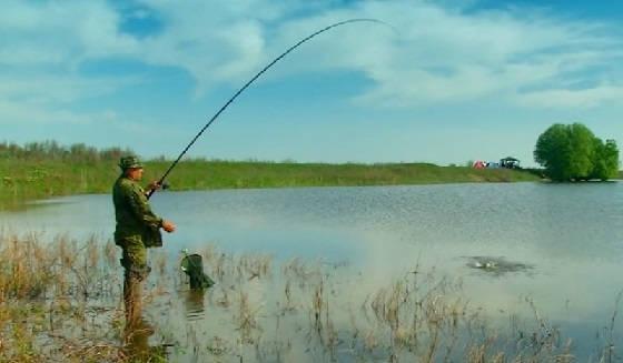 весенняя рыбалка на озёрах