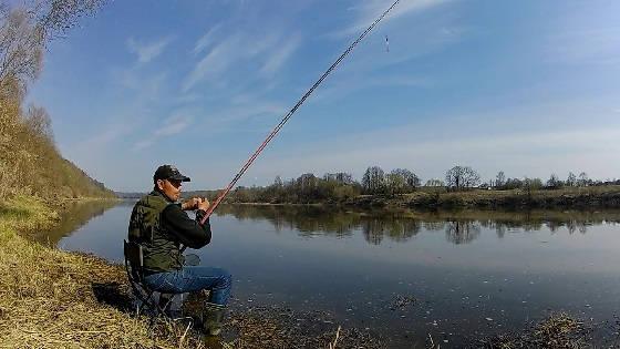 Рыбалка на ОКЕ в апреле