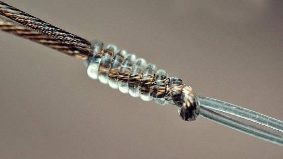 Узел wire leader knot