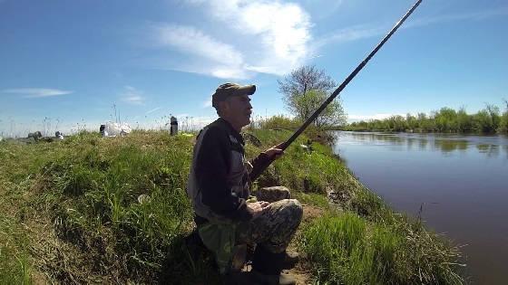 Рыбалка на Клязьме