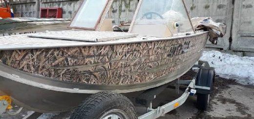 сколько живут Наклейки на лодке