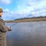 Рыбалка на Спиннинг: Джиг в Апреле на Реке