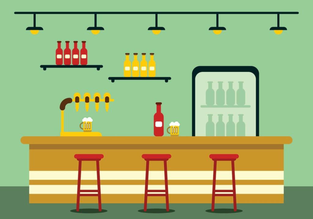 отделка баров под ключ