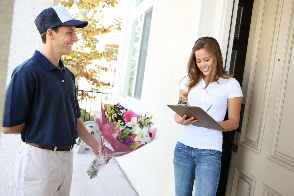 Покупка цветов в интернете