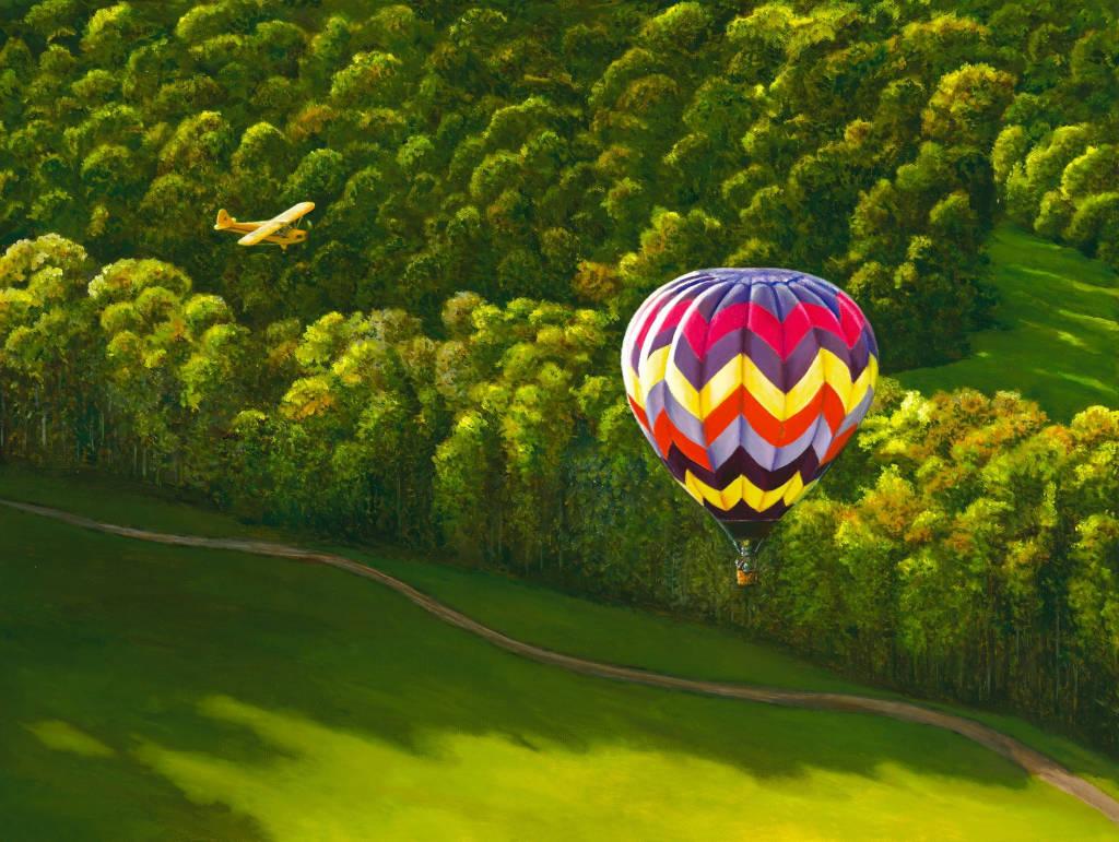 полет на воздушном шаре в Подмосковье