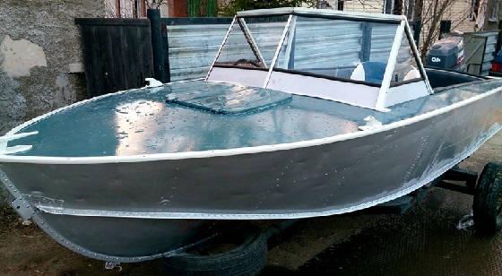 ТЮНИНГ лодки ПРОГРЕСС 2