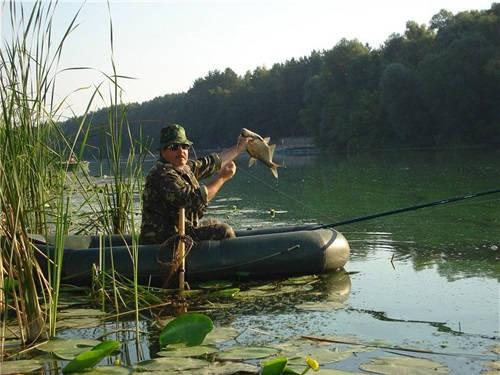 Ловля хищной и мирной рыбы с лодки
