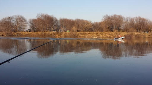 Рыбалка весной на реке Смиринка в Приморье