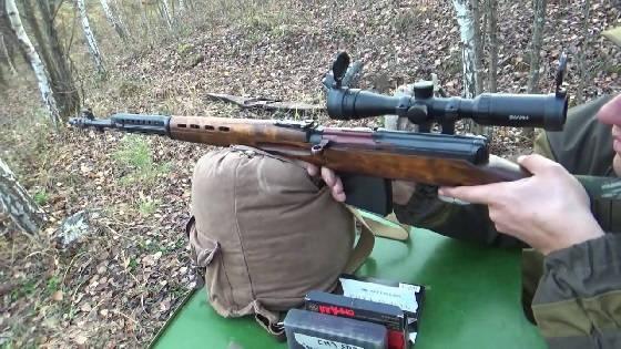 СВТ-40 стрельба на 500 метров