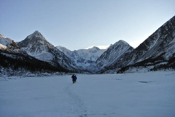 Зимний поход к Белухе