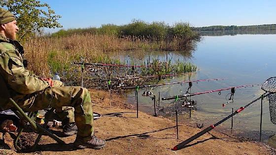Рыбалка с ночёвкой на ДОНКИ