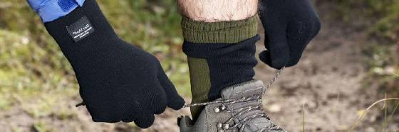 Шапка и треккинговые носки с мембраной Dexshell
