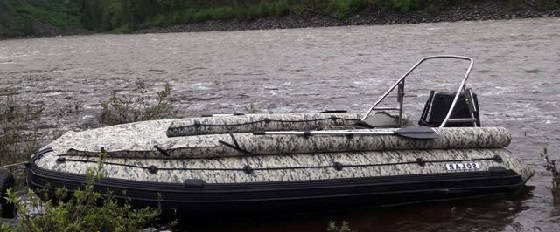 ВОДОМЕТНАЯ ПВХ лодка СОЛАР 520