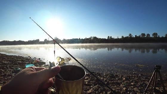 Рыбалка с ночевкой на берегу реки