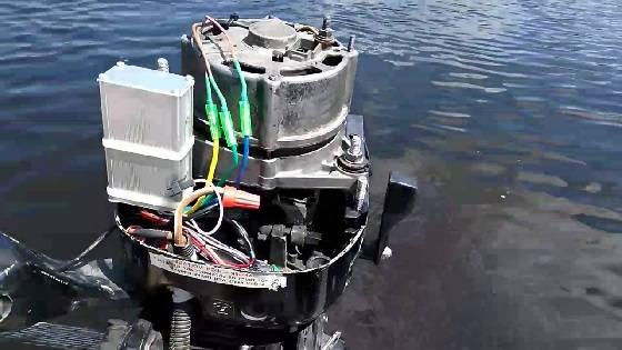 Лодочный электромотор ветерок 5000w